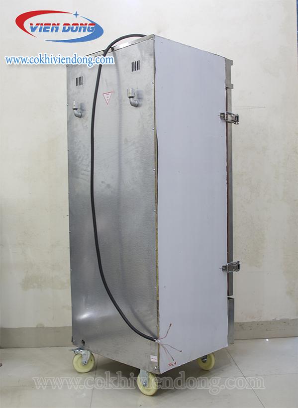 Tủ hấp giò chả 12 khay dùng điện và gas 2