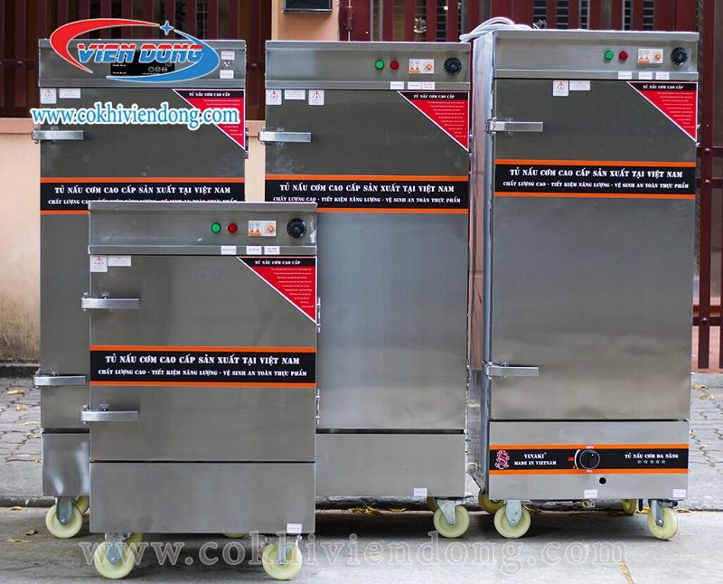 Tủ hấp chả lụa bằng điện Việt Nam