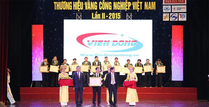 Viễn Đông nhận cúp vàng thương hiệu Việt Nam