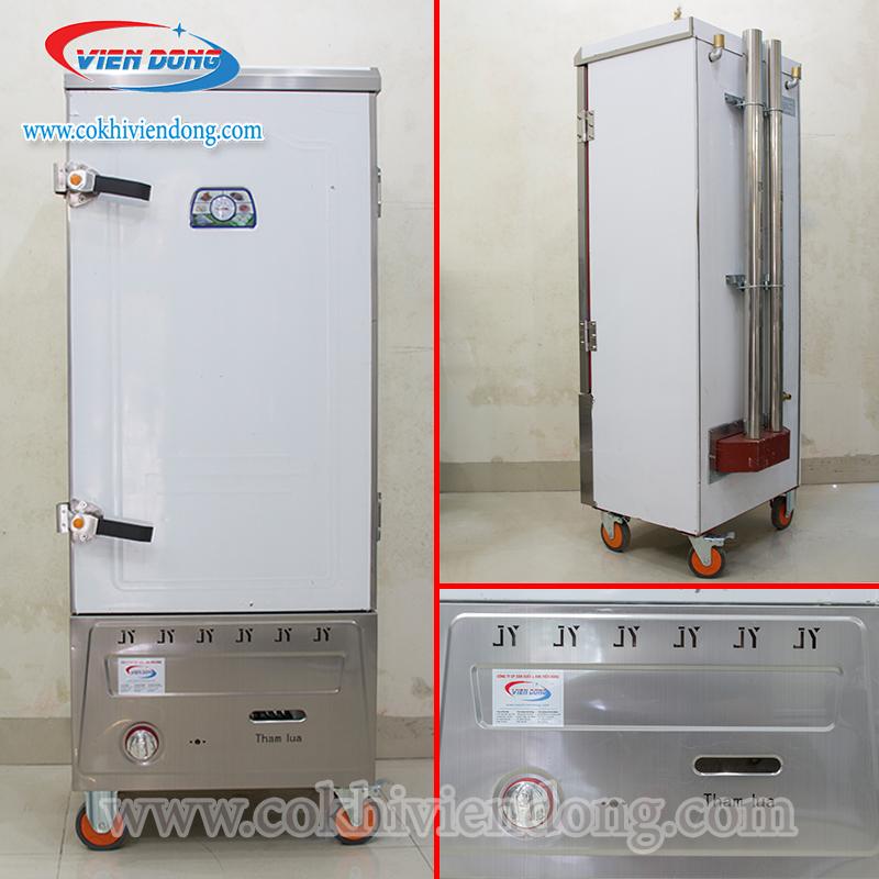 Tủ nấu cơm công nghiệp Trung Quốc dùng gas 9