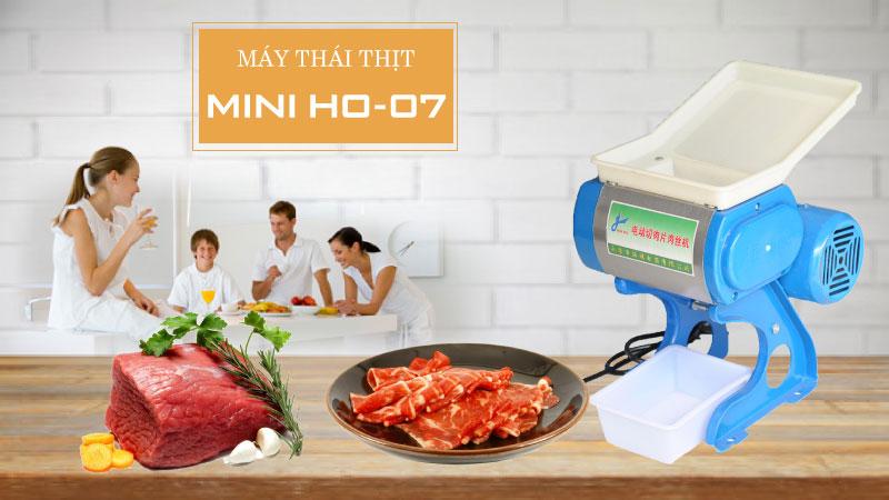 Ưu - nhược điểm của máy thái thịt gia đình HO 07