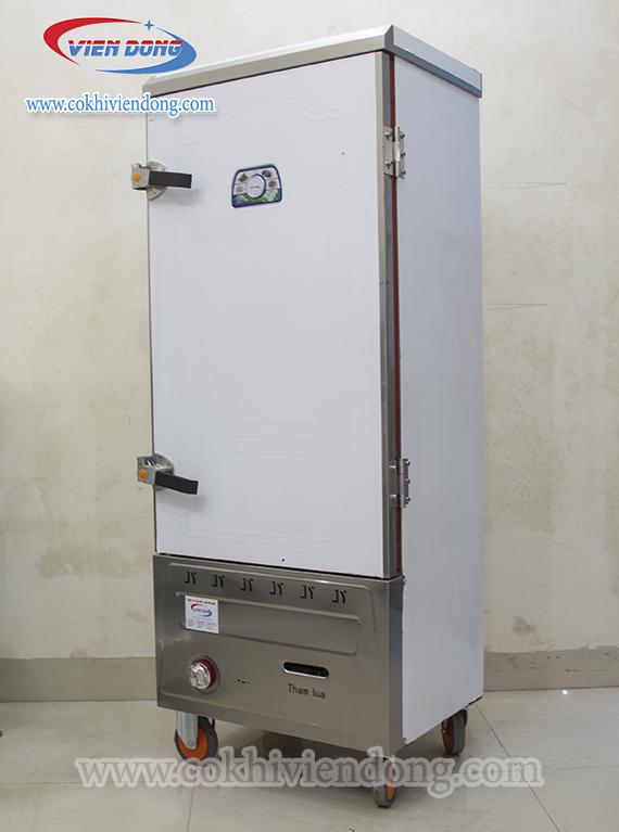 Tủ hấp giò chả bằng gas 3