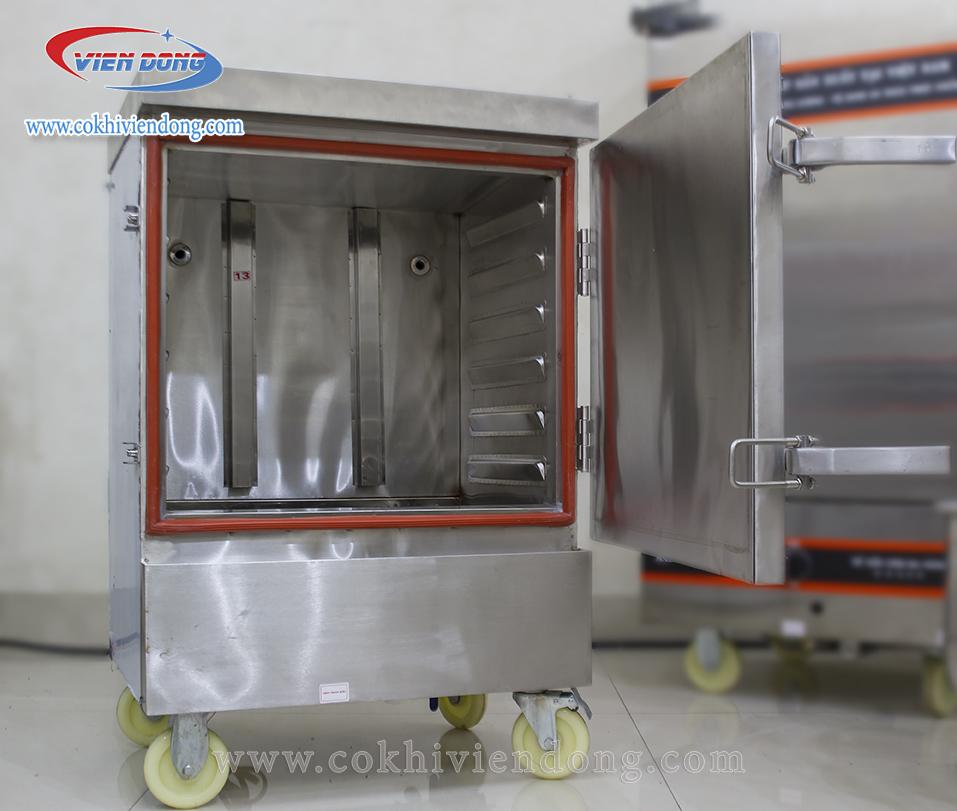 Tủ hấp giò chả 6 khay bằng điện Việt Nam