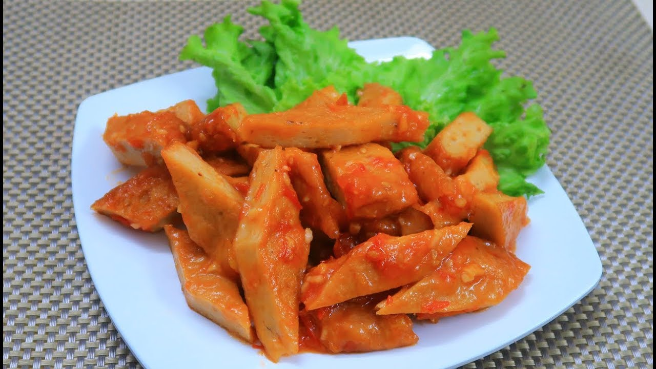 Món ăn từ chả quế: Chả quế sốt cà chua