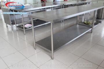Giá bàn bếp inox