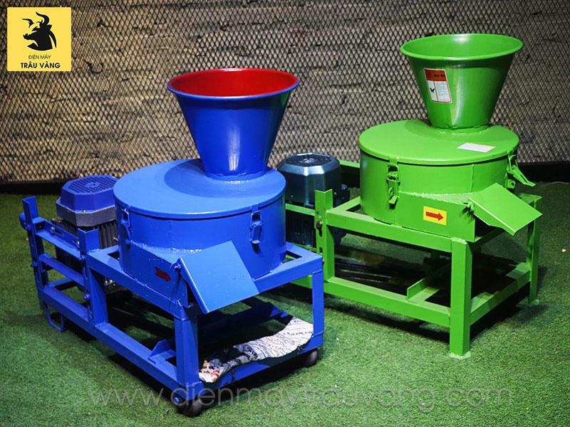 cấu tạo máy băm cỏ